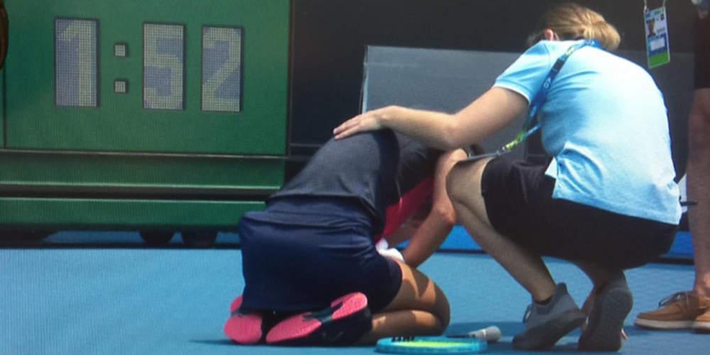 Αυστραλιανό Open: Τενίστρια κατέρρευσε εν μέσω αγώνα λόγω δύσπνοιας από τις πυρκαγιές