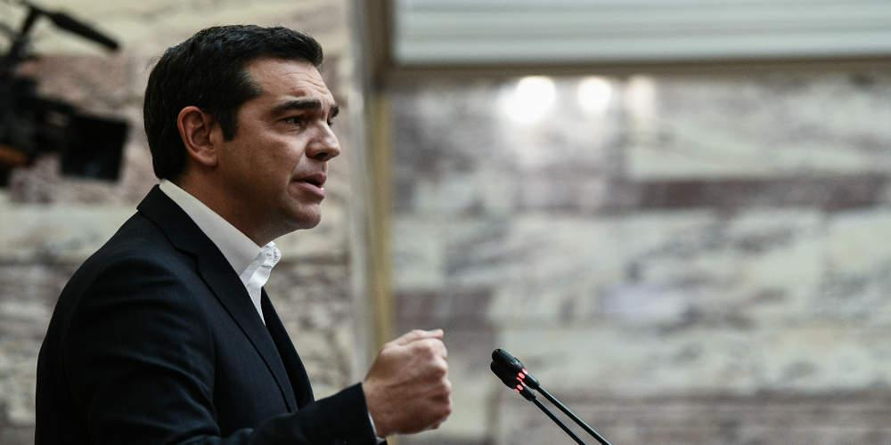 Τσίπρας στη Βουλή για κορωνοϊό: Δεν είναι ώρα για παιχνίδια, απαραίτητα τα περιοριστικά μέτρα [βίντεο]