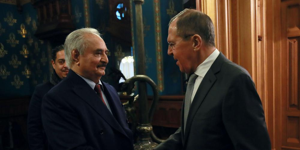 Επιστολή Χαφτάρ στον Πούτιν: Σας ευχαριστώ για τις προσπάθειες για ειρήνη και σταθερότητα στη Λιβύη