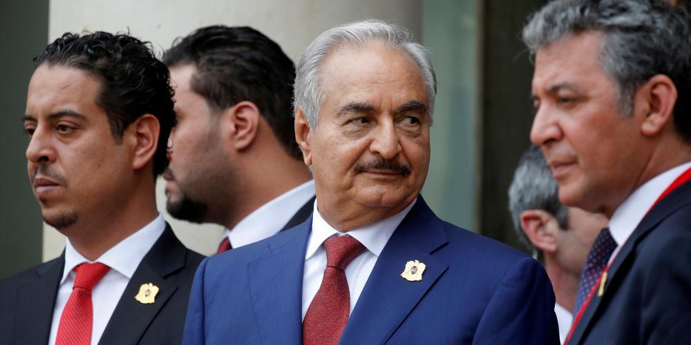 Χάφταρ: Η εκεχειρία στην Λιβύη θα εξαρτηθεί από την απόσυρση της Τουρκίας