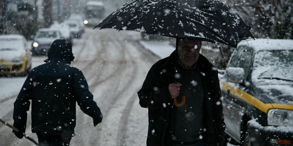Πρόγνωση καιρού: Πού θα χιονίσει και πού θα βρέξει το Σάββατο - Πολλά τα μποφόρ στο Αιγαίο