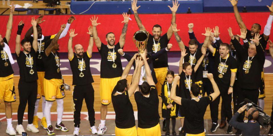 Μπάσκετ - Τελικός Κυπέλλου Ελλάδος: Η ΑΕΚ για 5η φορά «Βασίλισσα» - 61-57 του... πρωτάρη Προμηθέα
