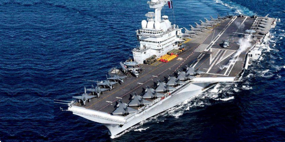 Εκτός μάχης το αεροπλανοφόρο Charles de Gaulle: Θετικοί στον κορωνοϊό 668 ναύτες
