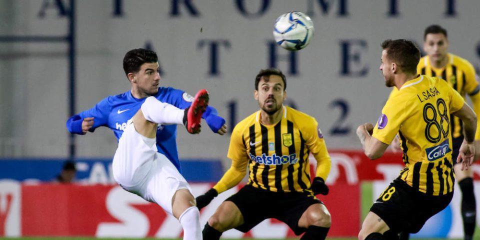 Κύπελλο Ελλάδας: «Διπλό» πρόκρισης για τον Άρη μέσα στο Περιστέρι με 1-0 τον Ατρόμητο