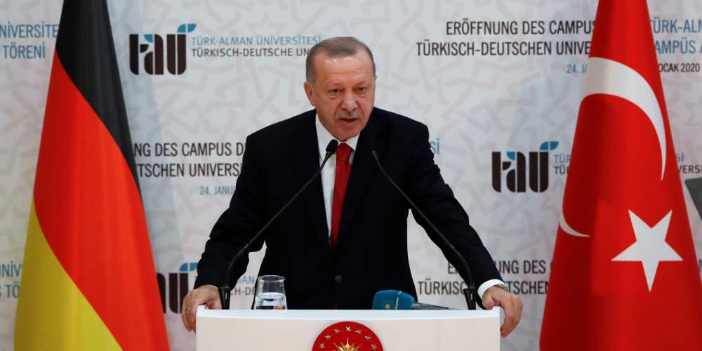 Απειλητικό μήνυμα Ερντογάν: Το χάος στη Λιβύη μπορεί να επεκταθεί σε όλη την Μεσόγειο