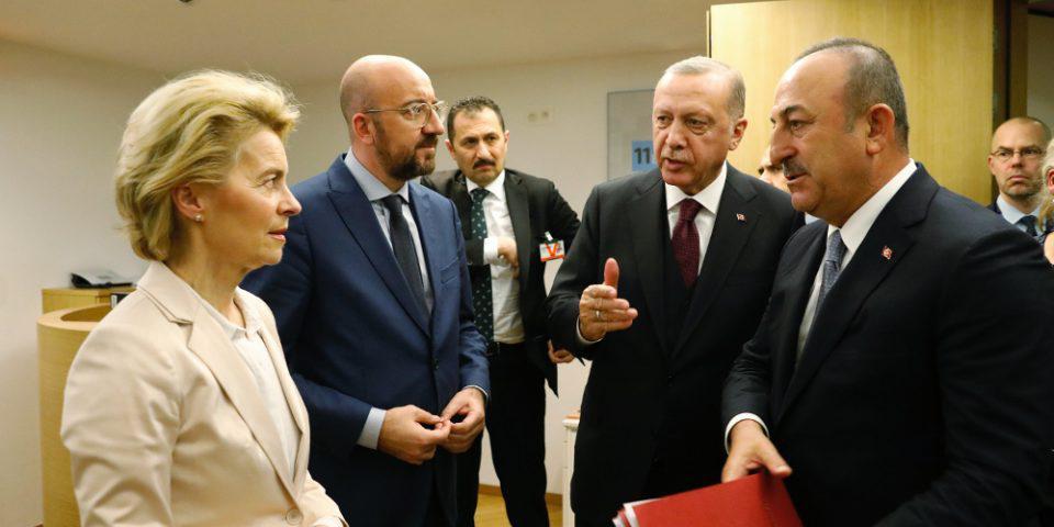 Φιάσκο Ερντογάν: Εκβιασμοί και απειλές τέλος το μήνυμα της Ε.Ε.