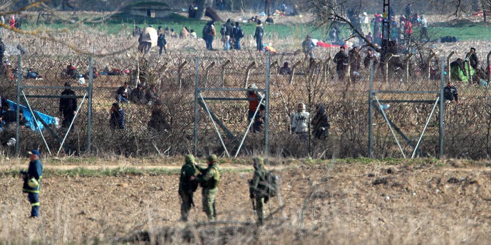 Evros: Endast 4% är flyktingar - Över 38 500 olagliga inreseförsök