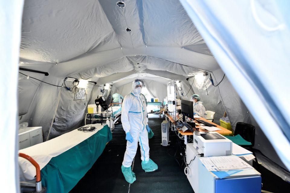 Κορωνοϊός: Δεν έχει τέλος το δράμα στην Ιταλία - 837 νεκροί σήμερα, 12.428 συνολικά
