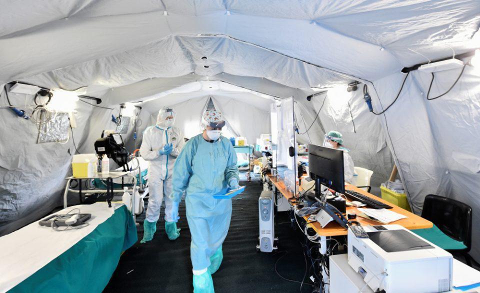 Κορωνοϊός-Ιταλία: 681 νεκροί και 4.805 νέα κρούσματα μέσα σε ένα 24ωρο