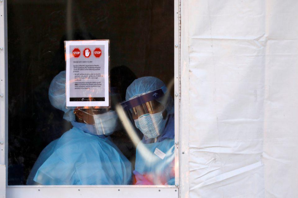 Κορωνοϊός: Ρεκόρ θανάτων στην Νέα Υόρκη με 630 νεκρούς σε μια μέρα