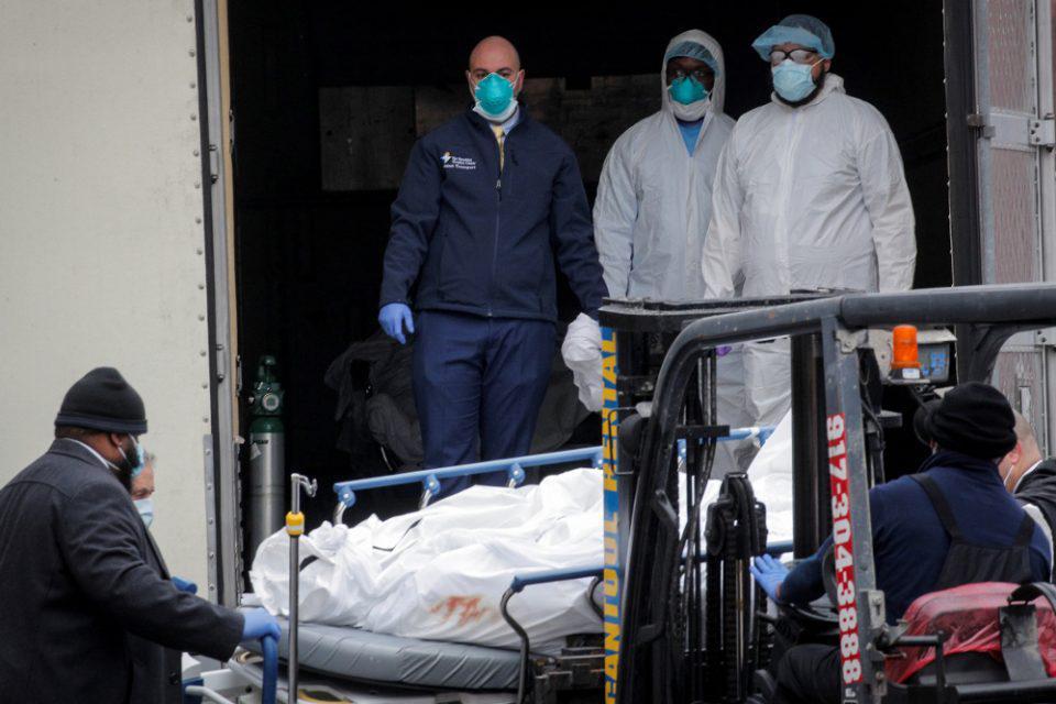 Κορωνοϊός: Τουλάχιστον 233.176 νεκροί και πάνω από 3.264.200 τα κρούσματα σε όλον τον κόσμο