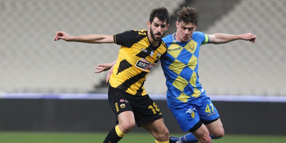 Κύπελλο Ελλάδας: Με «περίπατο» η ΑΕΚ στους «4» - 4-0 τον Παναιτωλικό