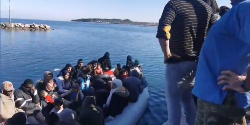 Frontex: Αυξήθηκαν τον Μάιο οι μεταναστευτικές ροές προς την ΕΕ