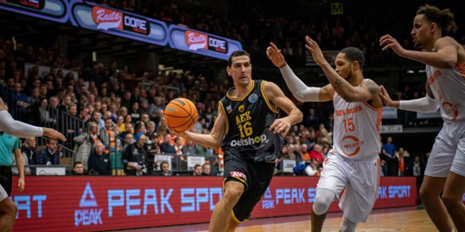Basketball Champions League: Μεγάλη νίκη της ΑΕΚ εκτός έδρας με 80-71 επί της Ράστα Βέχτα