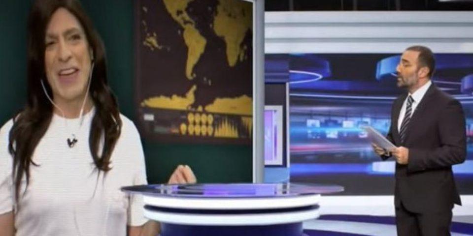 Τρομερή σκηνή στο Ράδιο Αρβύλα - Ο Σερβετάς έγινε Χριστίνα Μπόμπα