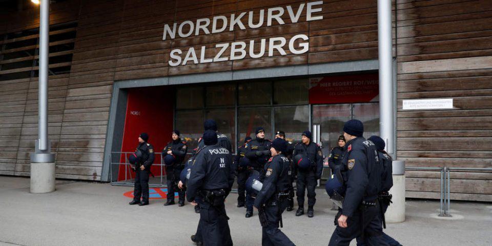 Europa League: Αναβλήθηκε το Σάλτσμπουργκ-Άιντραχτ υπό τον φόβο… κυκλώνα