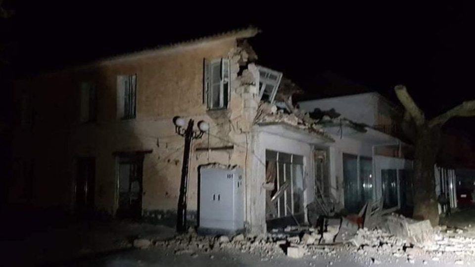 Ισχυρός σεισμός 5,6R στην Πάργα: Δύο τραυματίες και υλικές ζημιές στο Καναλλάκι Πρέβεζας
