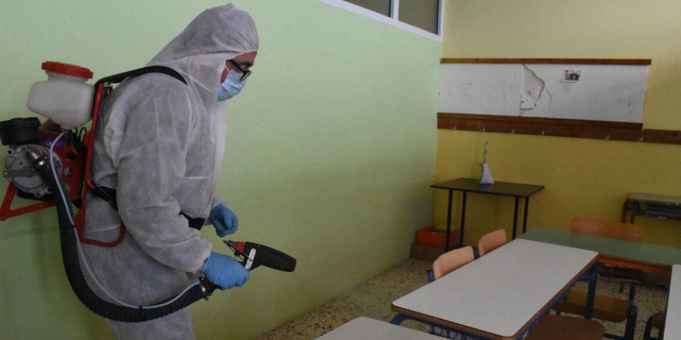 Κορωνοϊός: Σχεδόν περιττή η συχνή απολύμανση των επιφανειών
