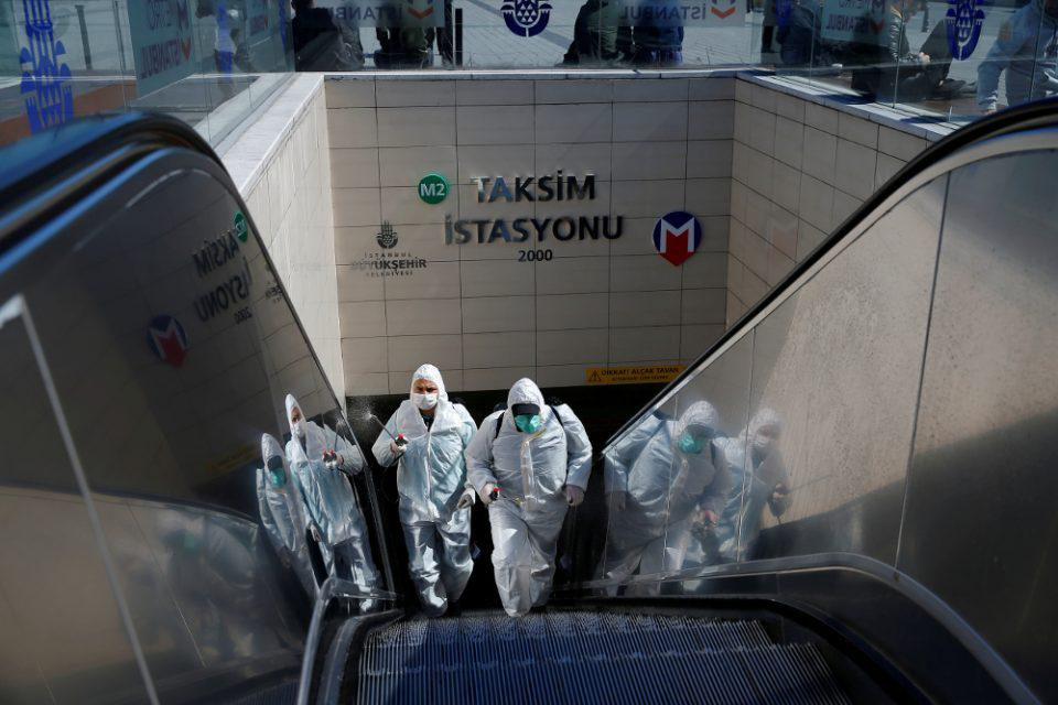 Κορωνοϊός-Τουρκία: Αυξάνονται οι θάνατοι και τα κρούσματα - 9 νεκροί και 670 κρούσματα