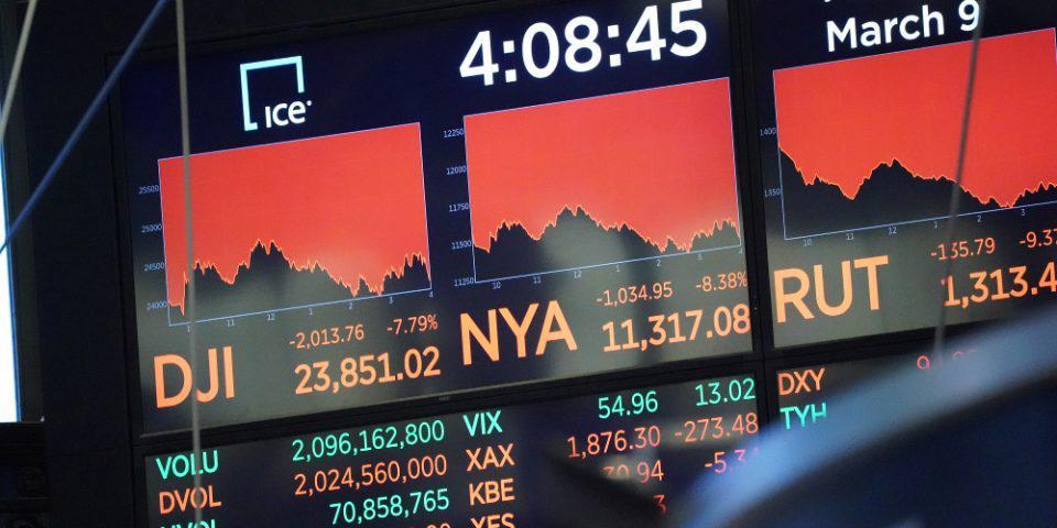 Κορωνοϊός: Σε ελεύθερη πτώση το Χρηματιστήριο - Χάνει 12 μονάδες