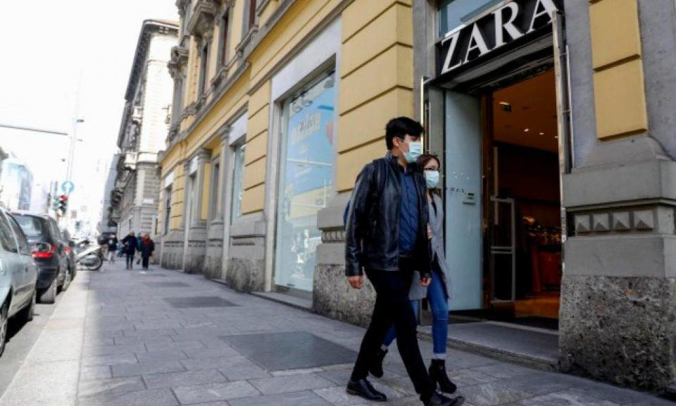 Tα Zara θα φτιάχνουν ρούχα για το ιατρικό και νοσηλευτικό προσωπικό της Ισπανίας