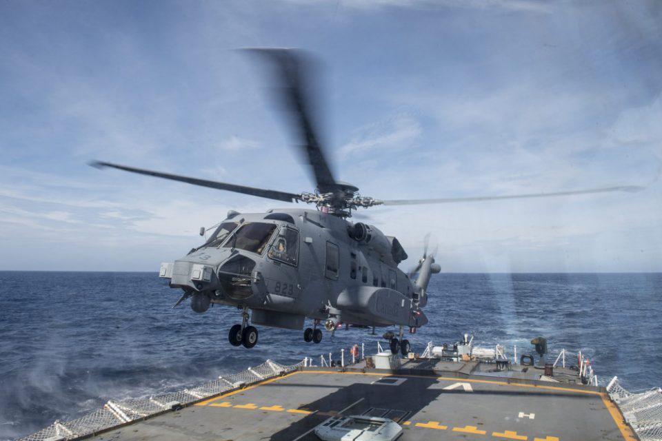 Συντριβή ελικοπτέρου του ΝΑΤΟ στο Ιόνιο: Ελληνικές δυνάμεις στην επιχείρηση αναζήτησης
