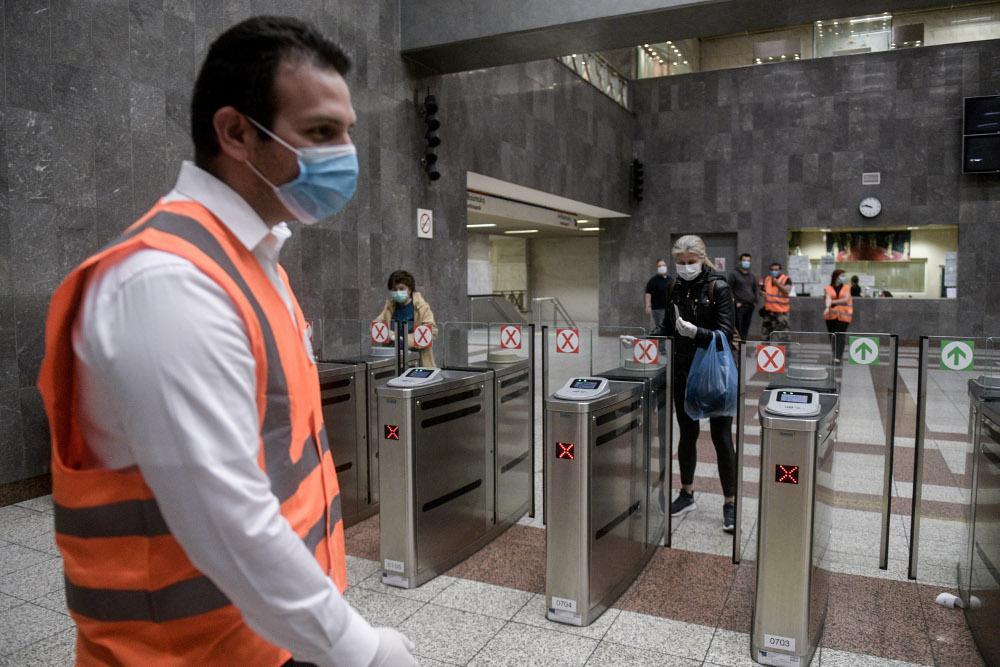 Πού «έπεσαν» τα πρώτα 150άρια για μη χρήση μάσκας προσώπου και αποστασεις