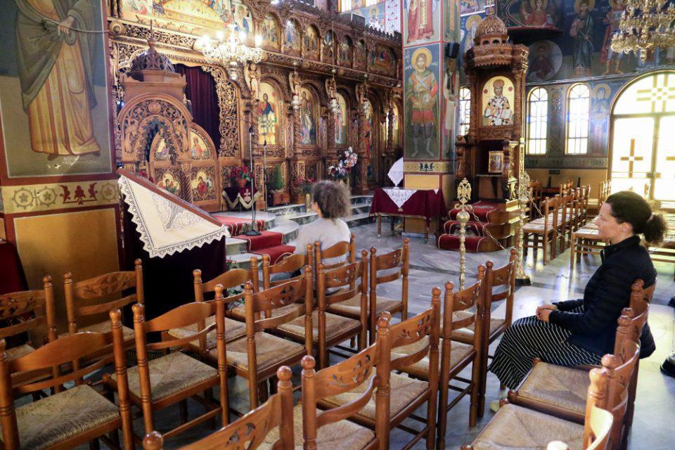 Εκκλησίες: Τι αλλάζει από 6 Ιουνίου- Περισσότεροι πιστοί στους ναούς