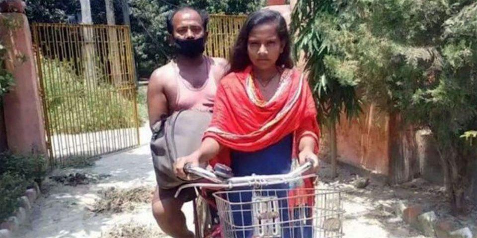 Το μεγαλείο ψυχής της 15χρονης Τζιότι Κουμάρι - Έκανε 1.200 χλμ. με το ποδήλατο και έσωσε τον πατέρα της