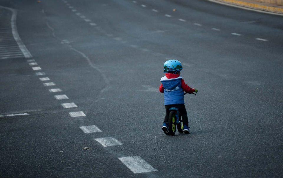 Παγκόσμια Ημέρα Ποδηλάτου 2020: Τα παιδιά ζωγραφίζουν μια διαδρομή με το ποδήλατό