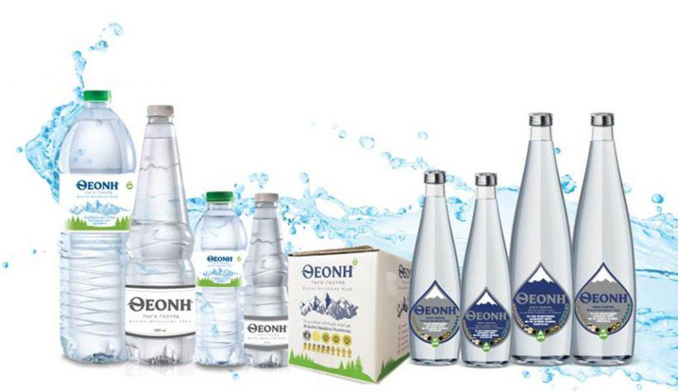 Tο Φυσικό Μεταλλικό Νερό ΘΕΟΝΗ σε όλα τα supermarket ΜΑΣΟΥΤΗΣ