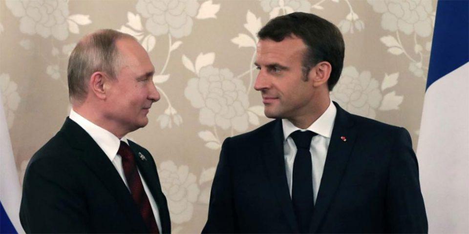 Επικοινωνία Μακρόν - Πούτιν για Ουκρανία και Λιβύη