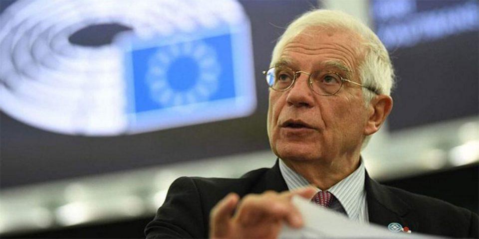 Εκπρόσωπος Μπορέλ: Στο τραπέζι νέες κυρώσεις κατά της Άγκυρας
