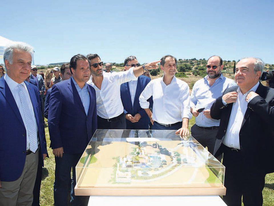 Κόπηκε η «κορδέλα» για την Kilada hill - Υπερβαίνει τα 400 εκατ. ευρω η επένδυση