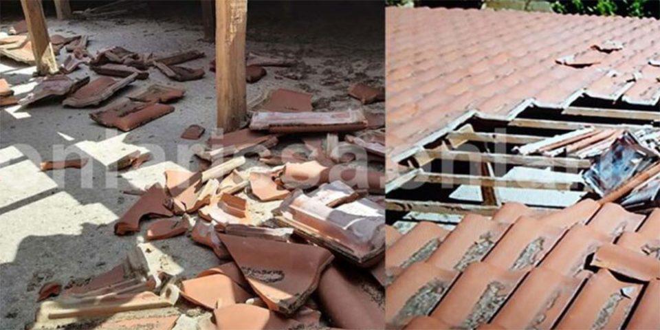 Απίστευτο περιστατικό στη Λάρισα: Αεροσκάφος «ξήλωσε» σκεπή σπιτιού - Τι δηλώνουν οι ένοικοι