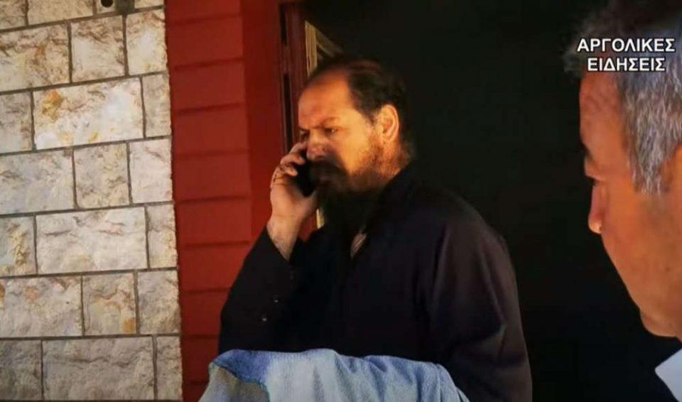 Παπάς-μάλαμα στο Ναύπλιο: Άφησε την Θεία Λειτουργία για να σβήσει πυρκαγιά [βίντεο]