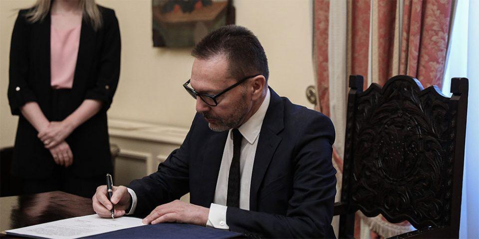 Ορκίστηκε ο Γιάννης Στουρνάρας στη θέση του διοικητή της ΤτΕ