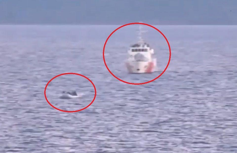 Ακραία πρόκληση: Τουρκικές ακταιωροί συνοδεύουν βάρκες με μετανάστες προς τα ελληνικά χωρικά ύδατα