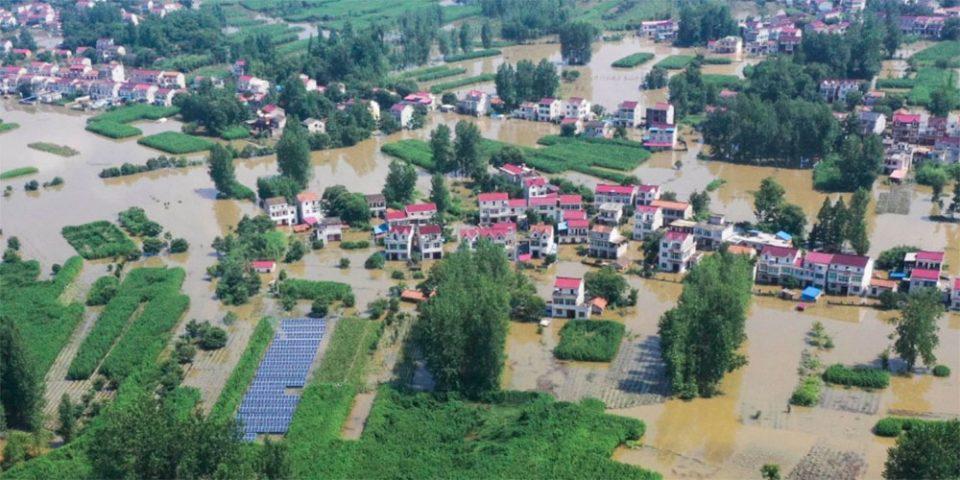 Φονικές πλημμύρες στην Κίνα – Τουλάχιστον 12 νεκροί