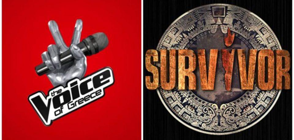 Διέρρευσαν τα ονόματα των παρουσιαστών σε Voice και Survivor