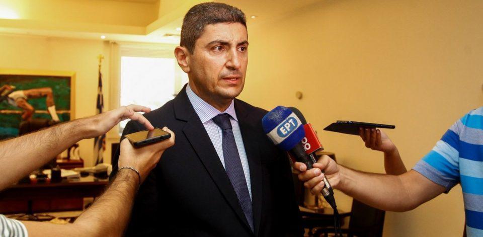 Αυγενάκης: Ευχαριστώ τον πρωθυπουργό για την εμπιστοσύνη του