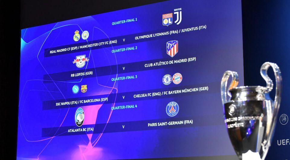 Champions League: Αυτά είναι τα ζευγάρια της φάσης των «8»