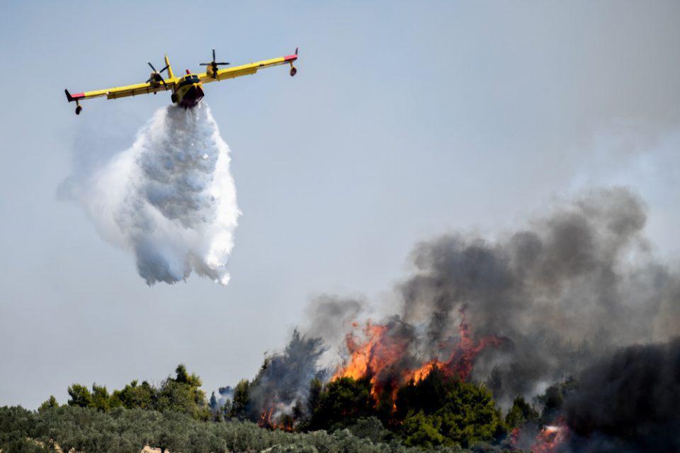 Συναγερμός στην Πυροσβεστική για φωτιά στη Δυτική Μάνη