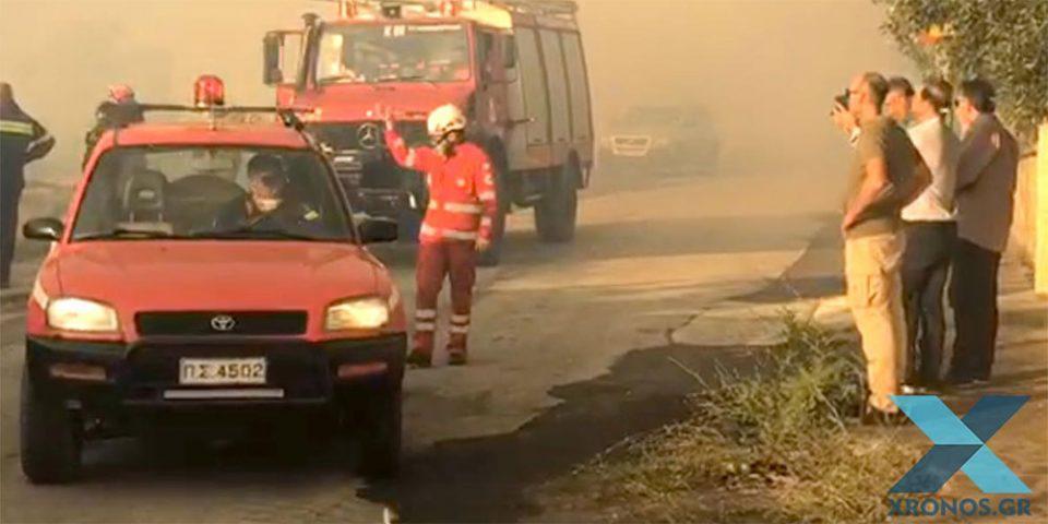 Μαίνεται η πυρκαγιά στη Ροδόπη - Ολονύχτια μάχη με τις φλόγες