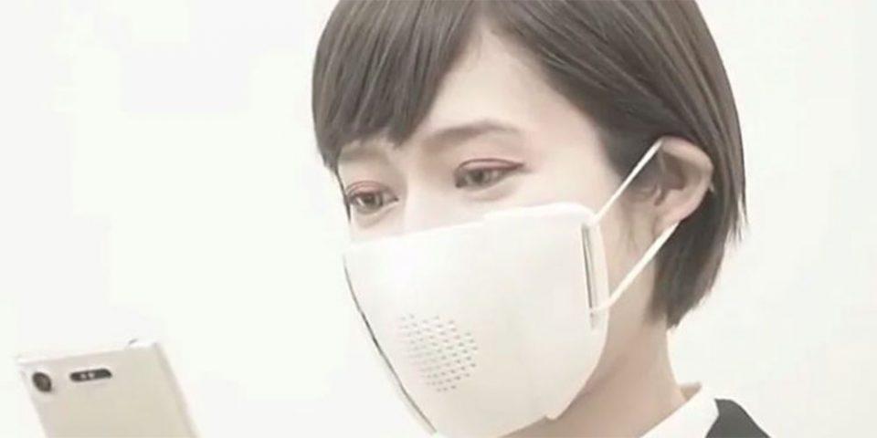 Γεγονός η πρώτη «έξυπνη» μάσκα που... μιλά οκτώ γλώσσες!