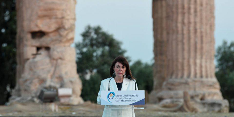 Μήνυμα Σακελλαροπούλου για την ελληνική προεδρία του Συμβουλίου της Ευρώπης: Ξεχωριστή ευκαιρία για τη χώρα μας