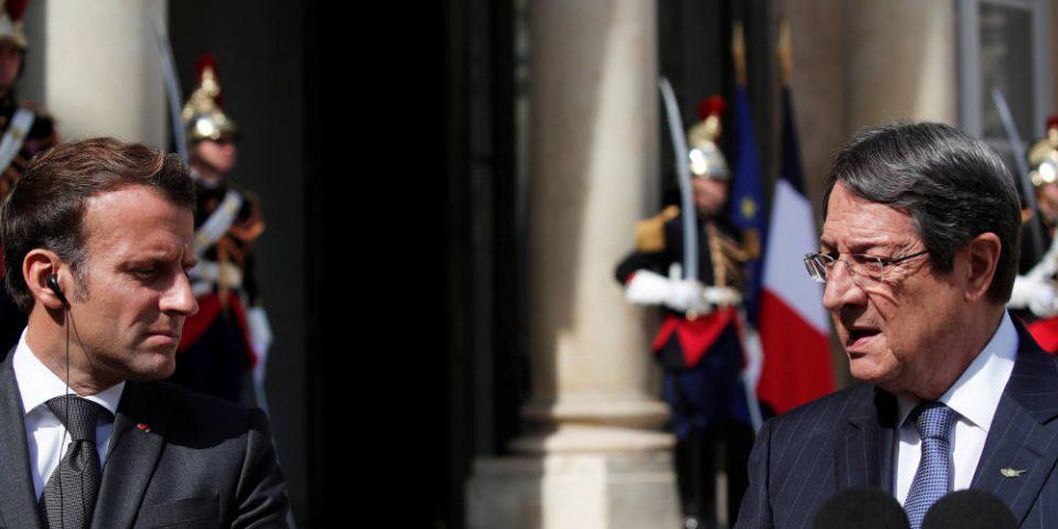 Σκληρό μήνυμα Μακρόν: Δεν θα αφήσουμε στα χέρια της Τουρκίας την Αν. Μεσόγειο