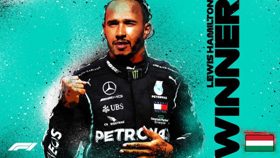 Formula 1: Άνετη νίκη για τον Χάμιλτον στην Ουγγαρία