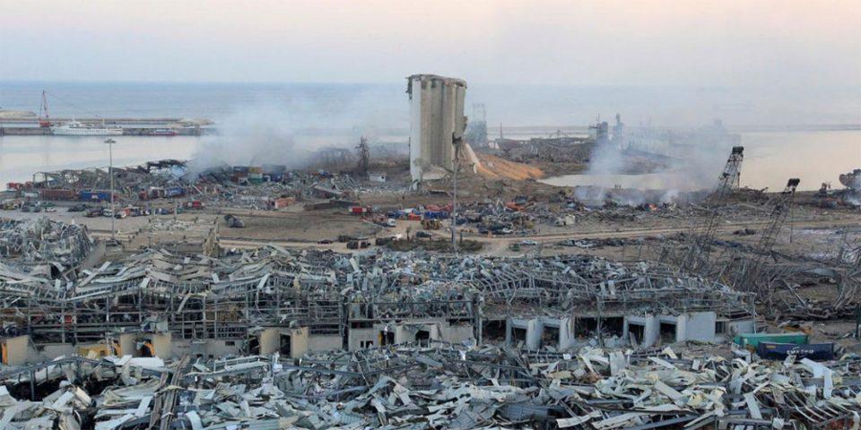 Φονικές εκρήξεις στη Βηρυτό: 171 οι νεκροί – Ενός λεπτού σιγή