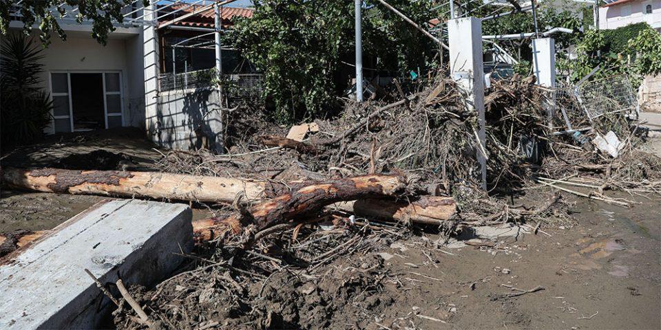 Σε κατάσταση έκτακτης ανάγκης οι περιοχές που «χτύπησε» η κακοκαιρία σε Εύβοια και Λαγκαδά